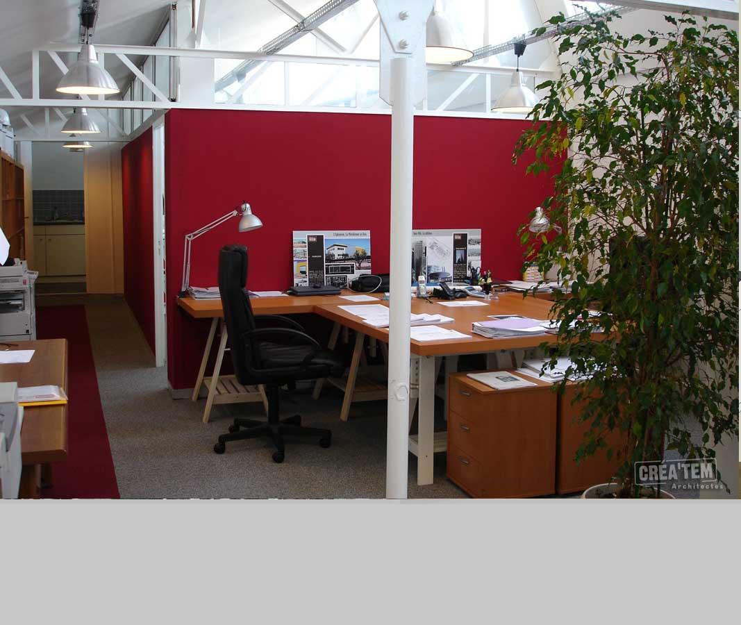 Bureaux et fermes industrielles