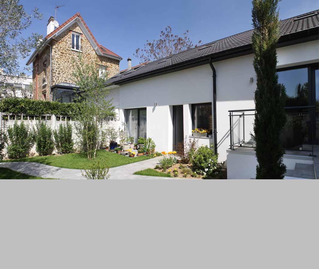 Rénovation totale d'une maison au Perreux