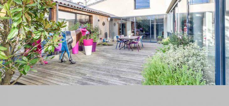 Maison à patio à Cholet