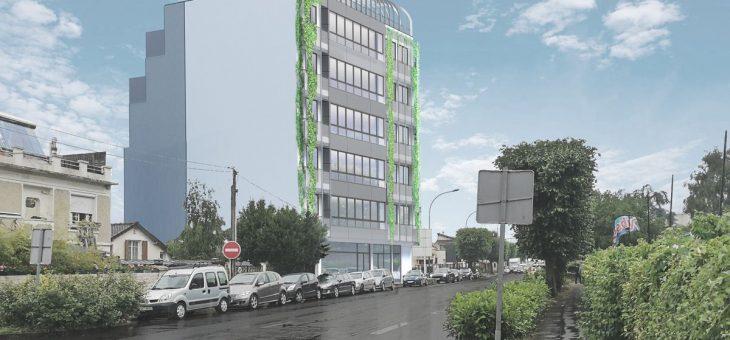 En cours – Val de Fontenay, construction d'un bâtiment de bureaux + restaurant