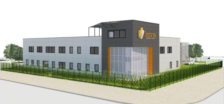 En cours – Collégiens, construction du siège social de l'entreprise ISTRA