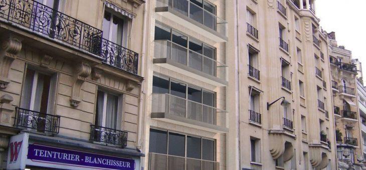 En cours – Paris 16ème, rénovation d'une copropriété de 10 étages