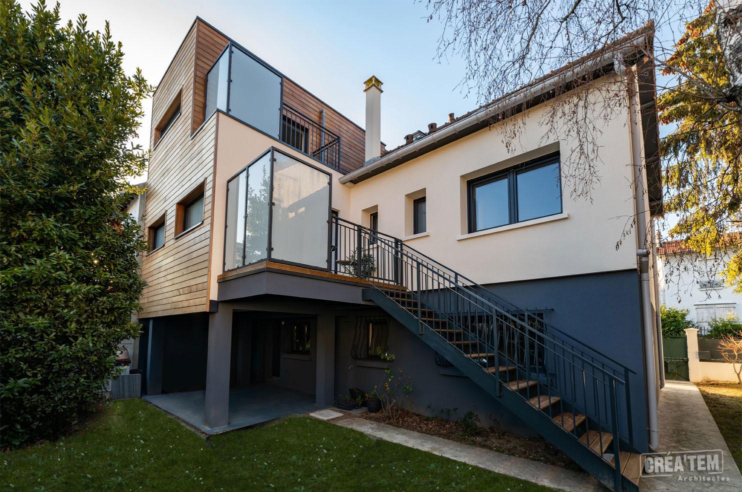Extension et restructuration d'une maison à Bry-sur-Marne