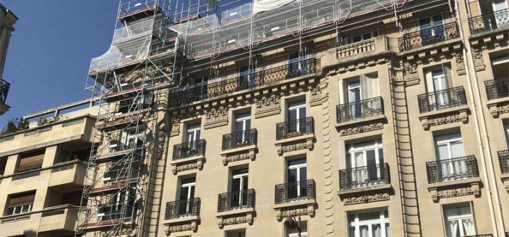 En cours – Paris 16ème, rénovation complète d'une toiture en zinc