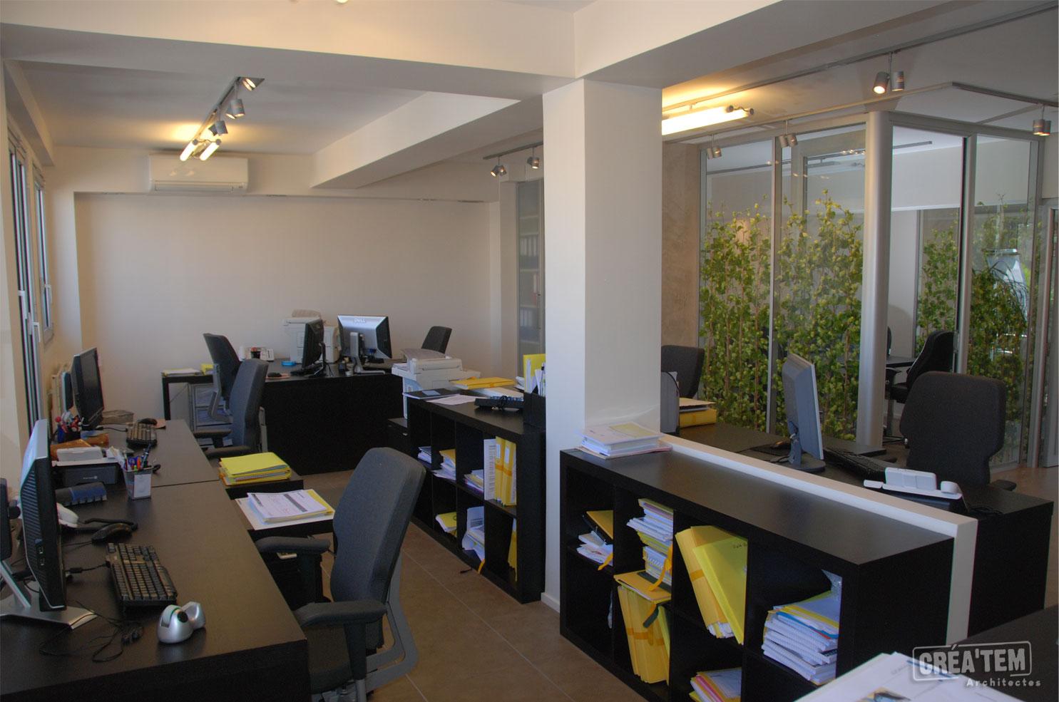 ManageVrai - Cloisons vitrées végétalisées à Paris