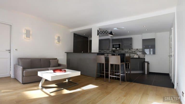 Paris Tuileries, Appartement (projet)
