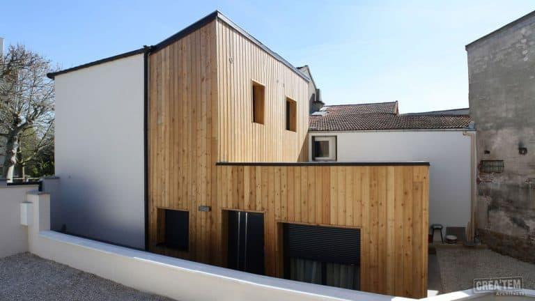 Rénovation énergétique+ 2 boîtes bois (projet)