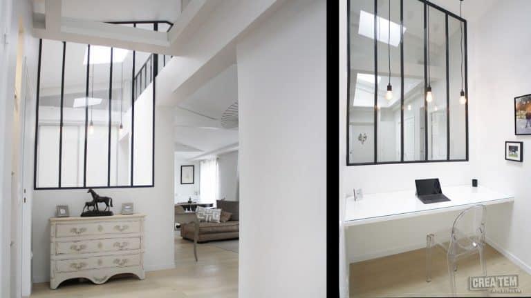 Paris, appartement sous les toits