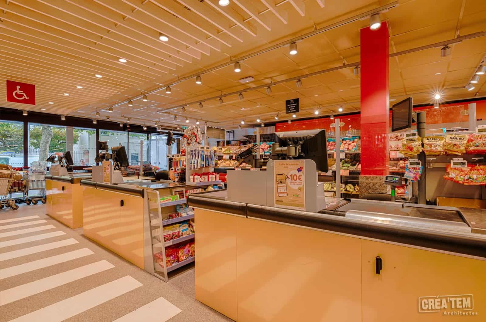 Actualités - Rénovation d'un Franprix au Perreux-sur-Marne