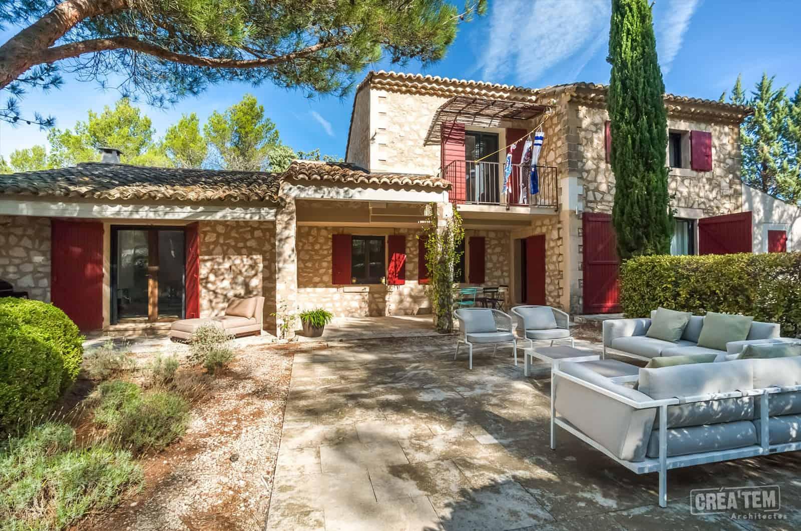 Actualités - Restructuration d'un Mas Provençal