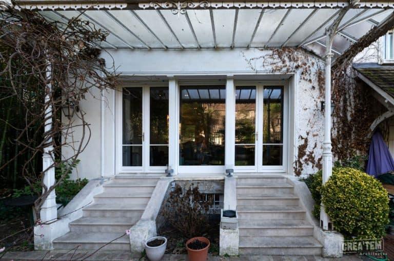 Colombes, ouverture sur jardin (projet)
